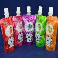 【热荐】吸吸果冻吸嘴袋/复合果汁包装袋/铝箔吸嘴自立袋供应
