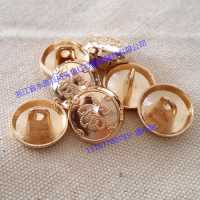 新款金属钮扣 高脚金属扣 外套装饰金属钮扣 暗眼金属钮扣