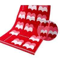 洁利红毛巾