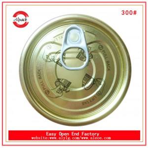 安联出售荔枝/水果糖水罐头300#马口铁易拉盖