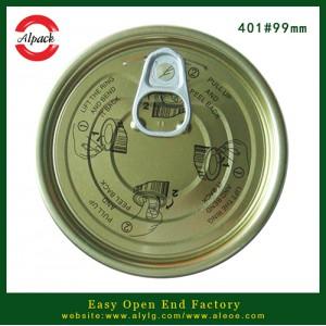 安联长期供应卤水鹌鹑蛋罐头401#马口铁易拉盖 量大质优