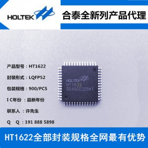 合泰HT1622 LQFP52 LCD液晶显示驱动IC