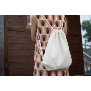 合肥环保双肩束口袋订制公司企业定做包瑞秋布袋厂