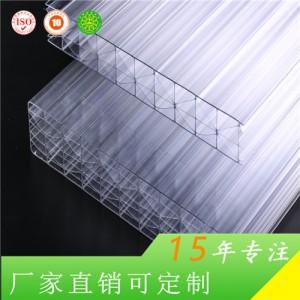 无锡惠臣厂家直销8mm四层矩形阳光板环保抗老化
