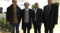 浙江省工商联五金机电商会领导年终走访会员企业