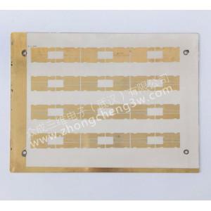 氧化铝陶瓷电路板,板厚0.38,金属铜200um单面