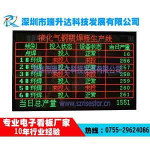 深圳瑞升达供应生产看板led全点阵看板