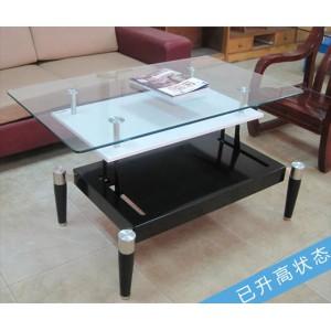 现代简约茶几 客厅家具多功能创意小户型茶桌储物茶台 升降餐桌