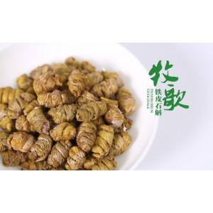 牧歌竹乡长款礼盒特级铁皮枫斗100g;花茶20g