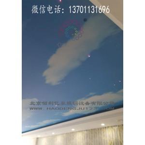 北京游泳池软膜光纤星空