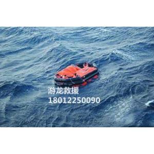 船用多人带顶蓬两面可用气胀救生筏
