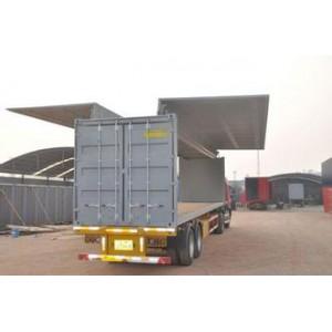 忠合全新展翼集装箱 保温 展翼箱 定制规格 普标价格