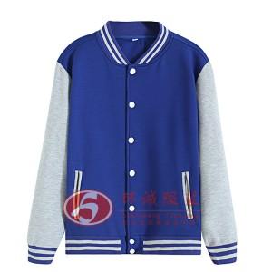 学生校服棒球衫 休闲棒球服外套 运动青年外套 环诚制衣