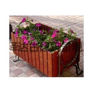 山东潍坊青州临朐创意花箱景观花盆防腐木户外花园种植