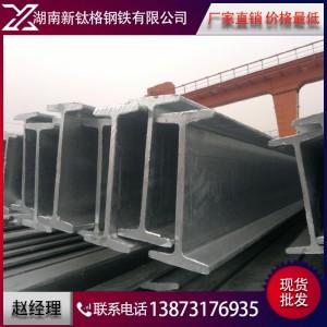 湖南厂家批发 国标工字钢 热镀锌工字钢 量大优惠