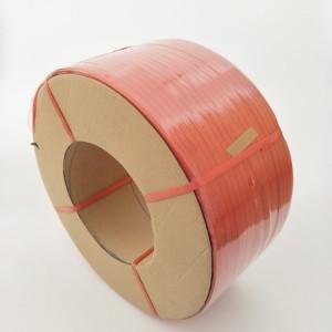 打包带厂家  专业生产机用PP红色打包带   质量保证