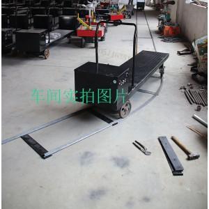 宁津温室大棚轨道遥控电动平板车四轮运输工具