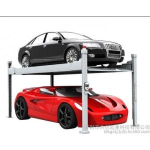 河南家用四柱简易升降停车设备  小型智能停车场