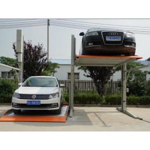 西安家用两层停车设备 智能车库设备价格