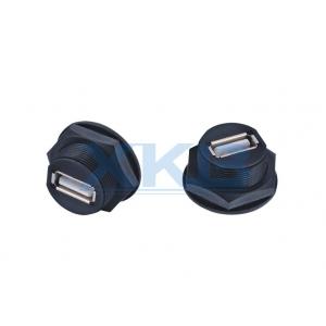 防水USB2.0母座 3.0防水航空插头 防水连接器