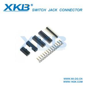 双排排针2.0mm间距2*4P双排插针直插直针