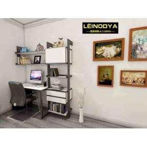 铝合金板式家具雷诺帝娅现代环保办公桌电脑桌