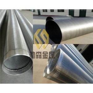 高精度梯形不锈钢绕丝管梯形丝条缝管
