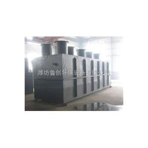 山东潍坊大姜生产污水处理地埋一体化处理设备