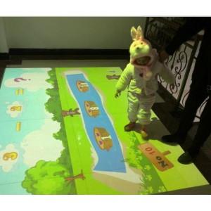 """幼儿园游戏设备幼儿启蒙教育系统智能互动投影""""魔幻地面"""""""