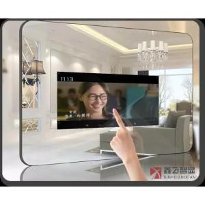鑫飞智显46寸电容智能液晶触摸一体机镜子(华为定制)