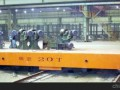 5T无轨平板车 电动设备牵引机 电动车间过跨车非标定制 (9播放)
