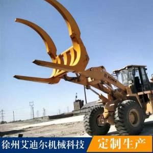 临工柳工龙工徐工厦工3050装载机定做夹木叉价格 钢管叉装机
