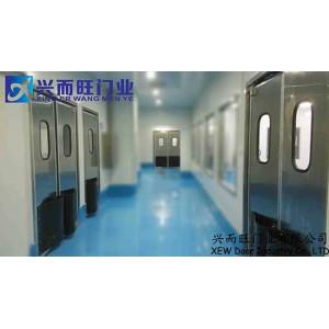 供应沧州不锈钢自由防撞门 兴而旺门业安装订做价格实惠