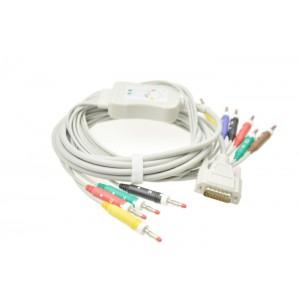 日本光电一体式心电图机导联线