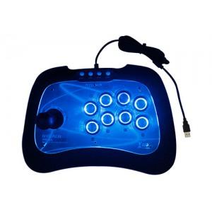尼嘉街机游戏摇杆支持电视PS3ps4电脑安卓带震动led按键