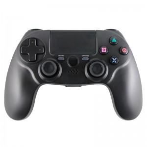 尼嘉供应私模无线蓝牙PS4游戏手柄P4主机双震动手柄