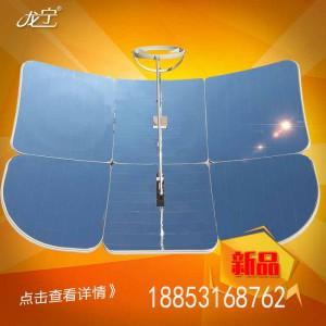 小型太阳灶新样式小型太阳灶金属分体冲压而成坚固耐用使用寿命厂