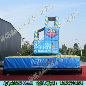 定制户外大型蹦极跳台 刺激趣味游戏器材 大型游乐设施