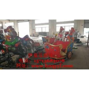 一次投资终生受益的大型旋转中高品质儿童游乐设备欢乐跑马