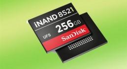 闪迪推256GB内存 新款UFS 2.1和eMMC 5.1发布