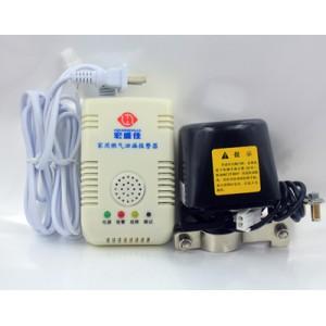 安装简单天然气报警器连动机械手全自动阀门