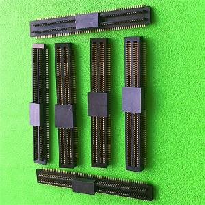 北京双槽板对板连接器120PIN公母座现货优质货源