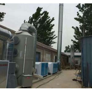 食品厂车间废气净化除臭光氧催化环保设备