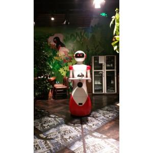 人工智能行业应用餐饮智能机器人能帮助服务员的好帮手