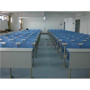 多媒体教室课桌椅,多功能厅教室课桌椅广东鸿美佳厂家订制