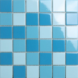 陶瓷马赛克高档釉面瓷砖泳池卫生间阳台墙地砖