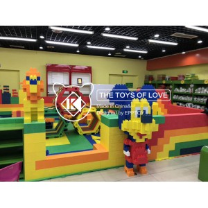 EPPTOY积木乐园 室内儿童主题乐园 EPP积木王国加盟