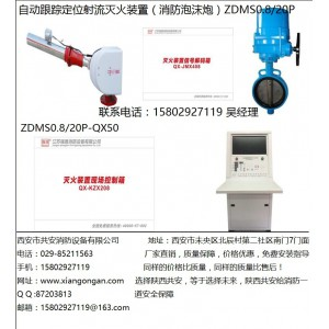 消防水炮厂家合理报价【陕西强盾】ZDMS自动消防泡沫水两用炮
