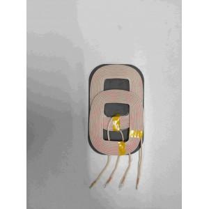 QI标准单层10W双线圈无线充电发射线圈可定制加工打样