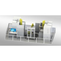 益模精钻-EDM放电加工自动化单元 机器人自动上下料
